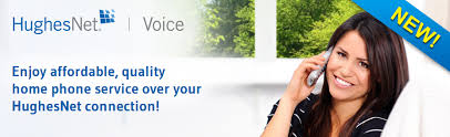 Enjoy affordable, quality home phone service over your HughesNet connection