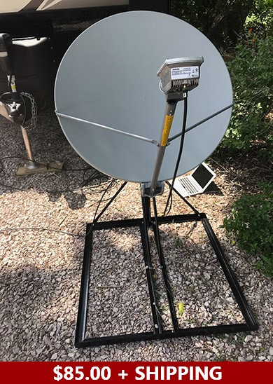 Mobile Satellite Internet