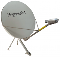 HughesNet HT2000W .98m 1 watt Gen5 High Speed Satellite Internet System with Mount & FREE Cable